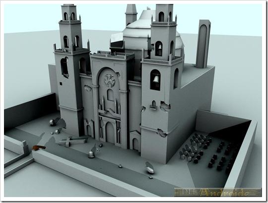 catedral destruida